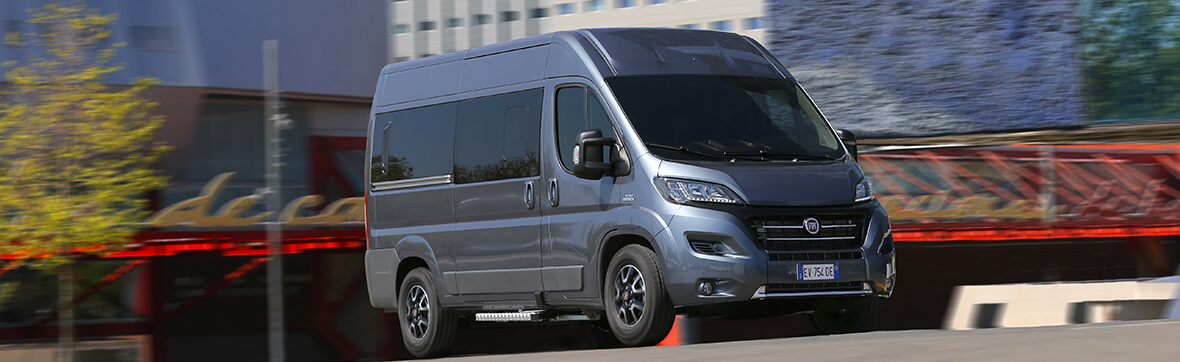 Fiat Ducato Personbilstransport