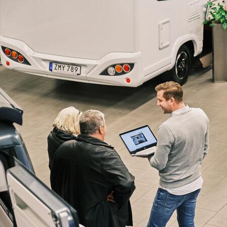 Maskincentrum säljare Fredrik