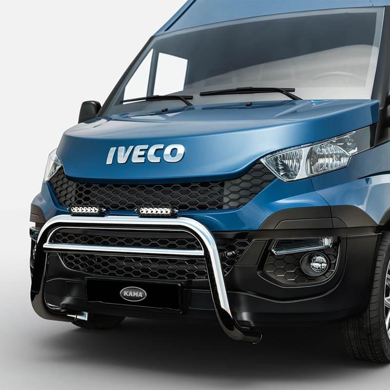 Påbyggnation transportbil Iveco