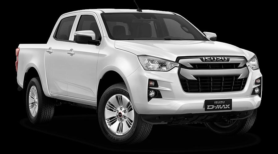 Isuzu Pickup D-Max Double Cab white