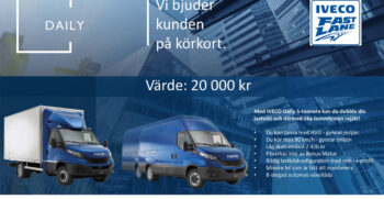 Iveco Daily körkort - kampanj
