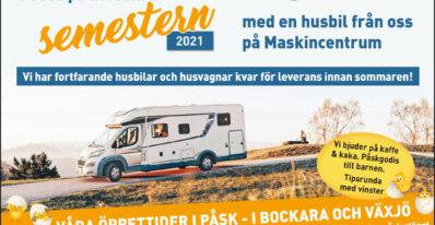 Påsk husbilar 2021
