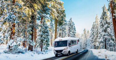 Pilote husbilar vinter