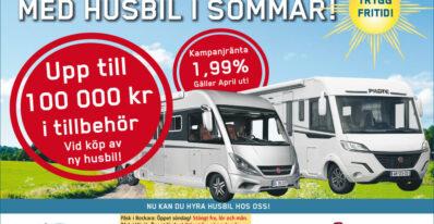 Semestra i Sverige med Husbil