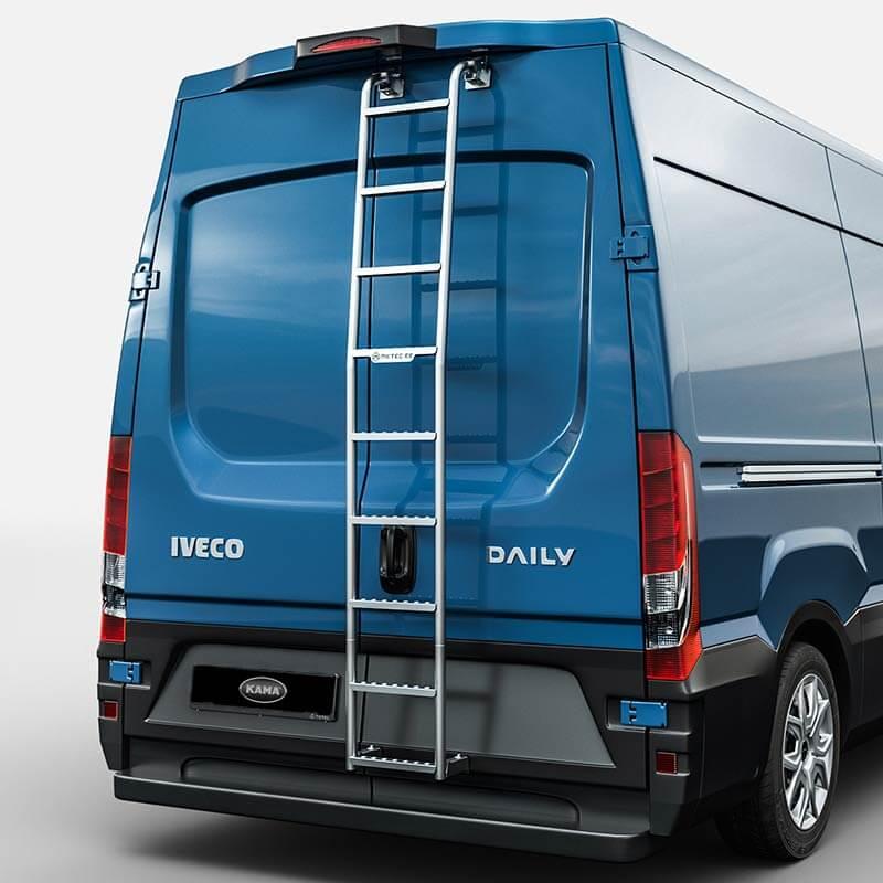 Påbyggnation stege Iveco Transportbil